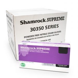 Shamrock Nitrile Exam Gloves S-M-L-XL (100/bx)