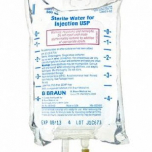 B Braun Sterile Water Injections
